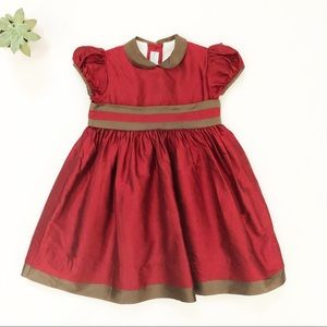 Papo D Anjo | Girls Red Holiday Party Dress